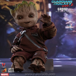 Hot Toys LMS004 Guardians of The Galaxy Vol2 Life Size Groot