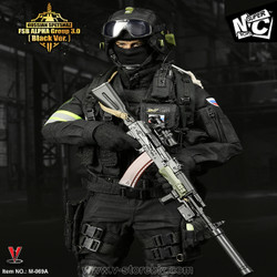SuperMCToys Russian Spetsnaz FSB Alpha Group 3 (Black Ver.)