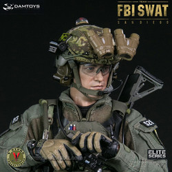 DAMToys 78044A FBI SWAT Team Agent - San Diego