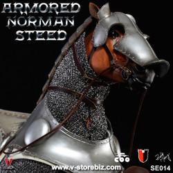 Coomodel SE014 Series of Empires Armored Norman Steed