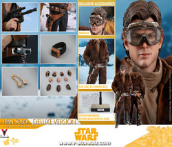 Hot Toys MMS492 Solo: A Star Wars Story Han Solo (Deluxe Version)