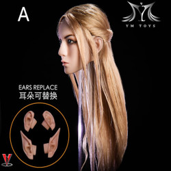 YMToys YMT09A Blonde Elf Headsculpt
