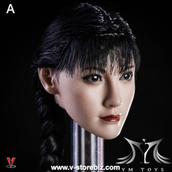 YMToys YMT08A Pale-Skin Female Headsculpt