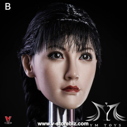 YMToys YMT08B Wheat-Skin Female Headsculpt
