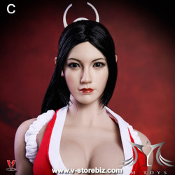 YMToys YMT08C Pale-Skin Female Headsculpt