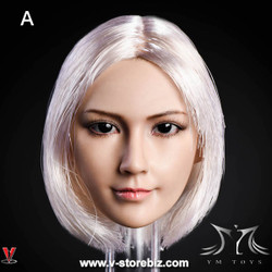 YMToys YMT10A Female Silver-haired Headsculpt