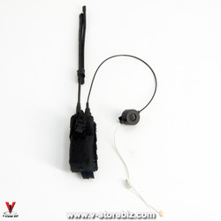 DAM 78050 US Navy Officer AN/PRC-148 Radio & Pouch