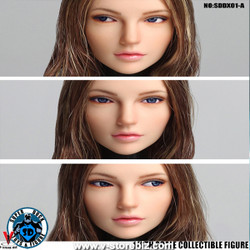 SuperDuck SDDX01A Female Headsculpt (Light Brown)