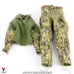 DAM 78051 Naval Warfare Special Forces Woodland AOR2 Uniform
