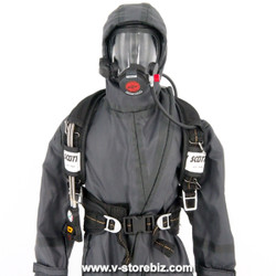 DAM 78051 Naval Warfare Special Forces NBC Suit, Gloves & Airpack System
