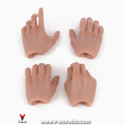 Male Hands Type 3 (Set of 4)