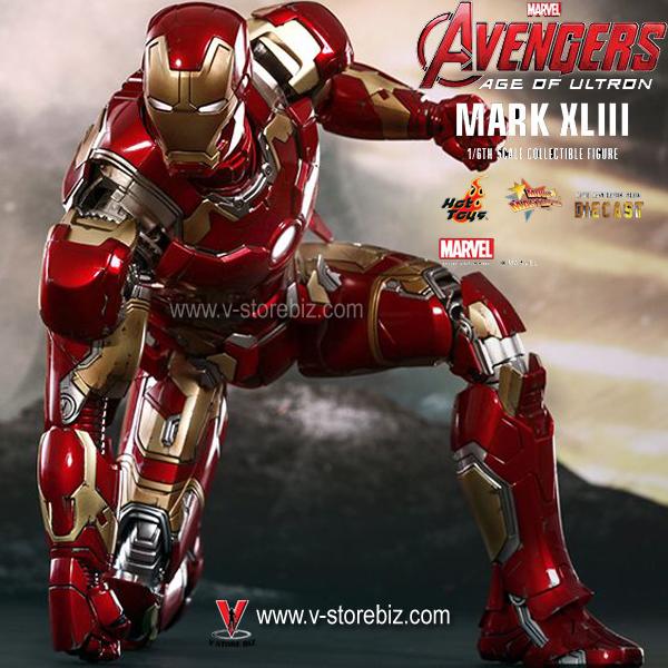 Hot Toys MMS278D09 Age of Ultron Iron man Mark XLIII