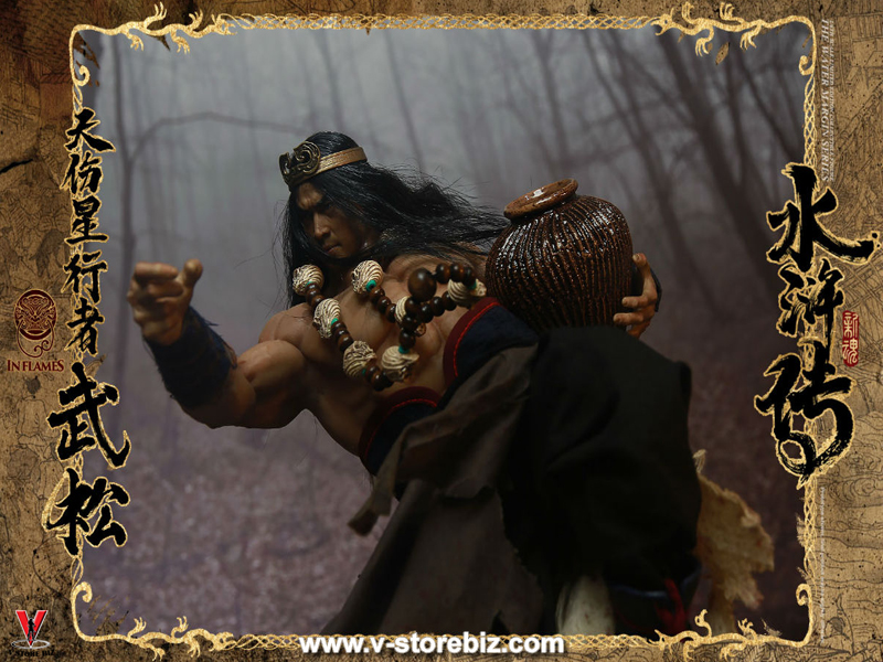 Inflames x Newsoul IFT-030 The Water Margin Series Skywalker Wu Song (Deluxe)