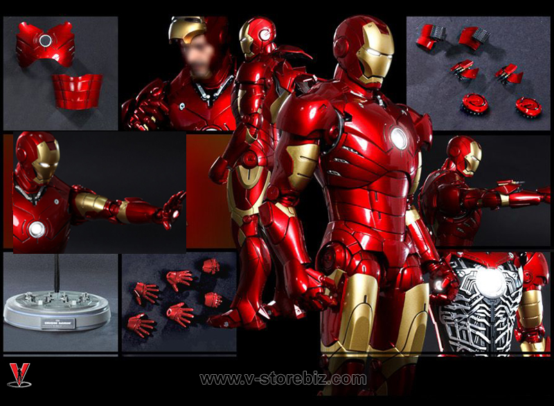 Hot Toys MMS256D07 - Iron Man Mark III Diecast