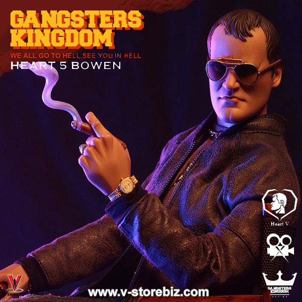DAM Gangsters Kingdom GK016 Heart 5 Bowen