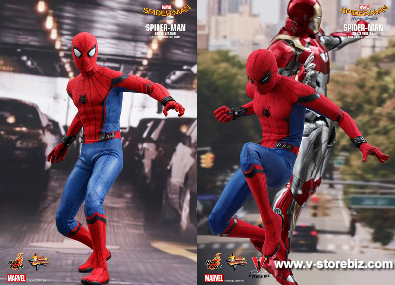 Hot Toys MMS426  Spider-Man Homecoming Deluxe Version