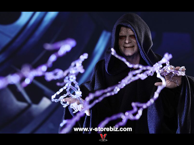 Hot Toys MMS468 Star Wars Episode VI Return of the Jedi Emperor Palpatine Deluxe