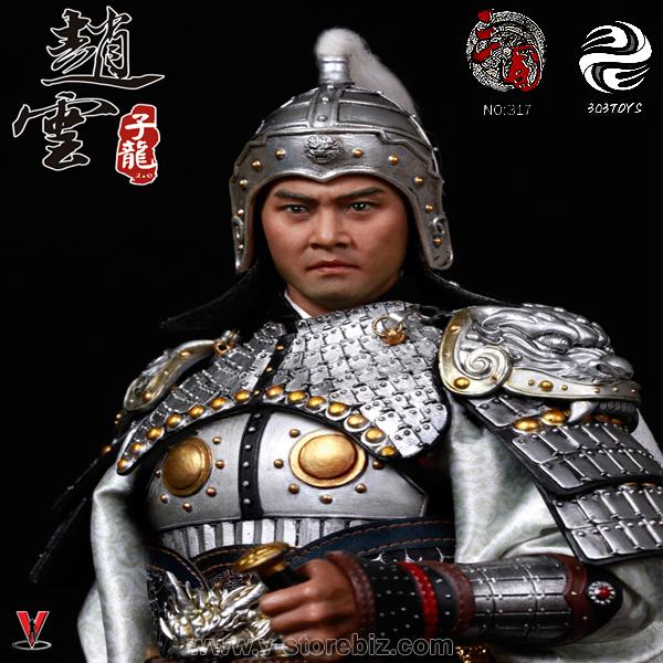 303TOYS NO.317 Three Kingdoms Series Zhao Yun AKA Zilong 2
