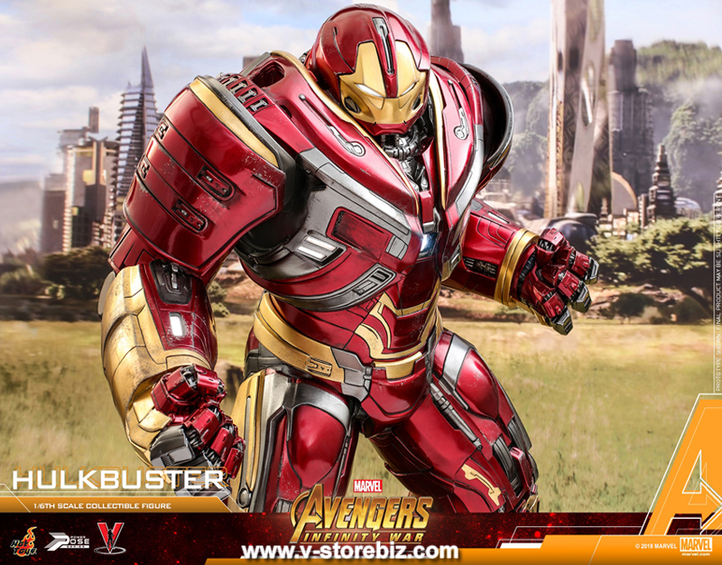 Hot Toys PPS005 Avengers: Infinity War 1/6th Power Pose Hulkbuster