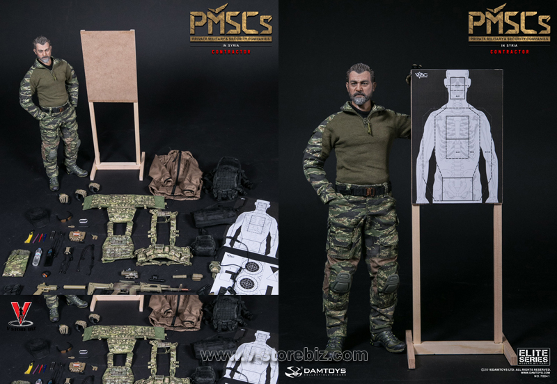 DAM 78041 PMSCs Private Military Security Companies Contractor In Syria