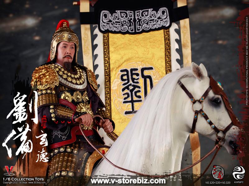 303Toys No.120, 220 & 320 Three Kingdoms Series Liu Bei Set