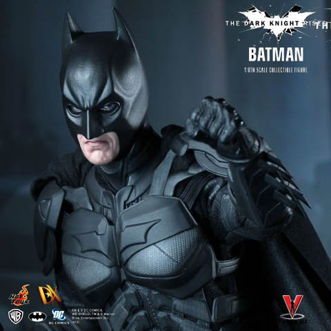 Hot Toys DX12 The Dark Knight Rises Batman Bruce Wayne