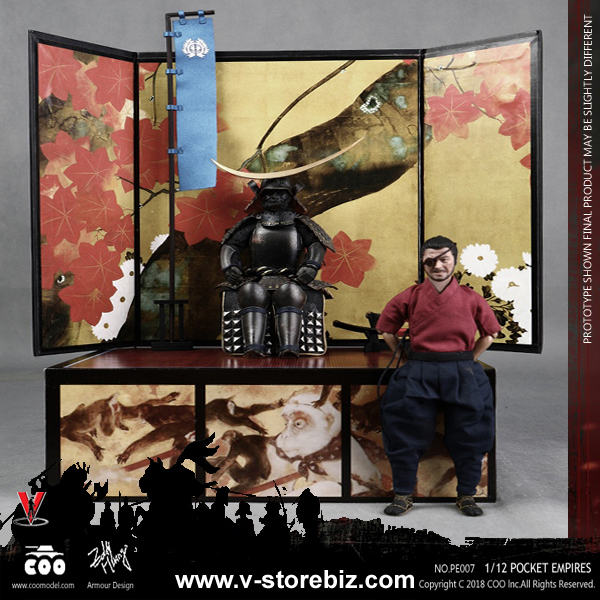 Coomodel PE007 1/12 Palm Empires Date Masamune (Exclusive Edition)