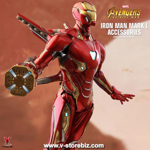 Hot Toys ACS004 Avengers: Infinity War Iron Man Mark L Accessories