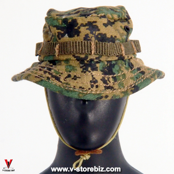 Zoom the image with the mouse.  . Soldier Story SS066 USMC 2nd MEB  Afghanistan Boonie Hat 06bcf7856d1