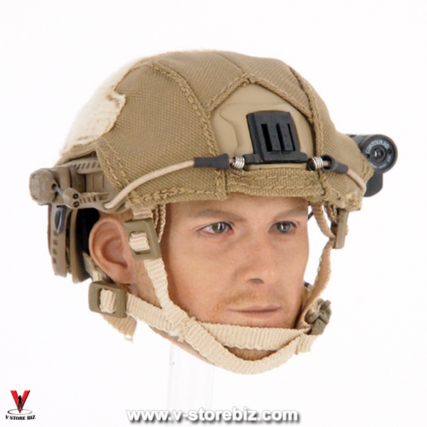 DAM 78051 Naval Warfare Special Forces Base Jump Helmet & Gears