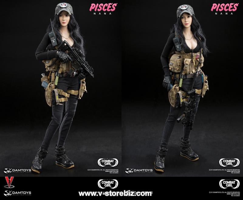 DAM DCG003 Combat Girl Series Pisces Nana