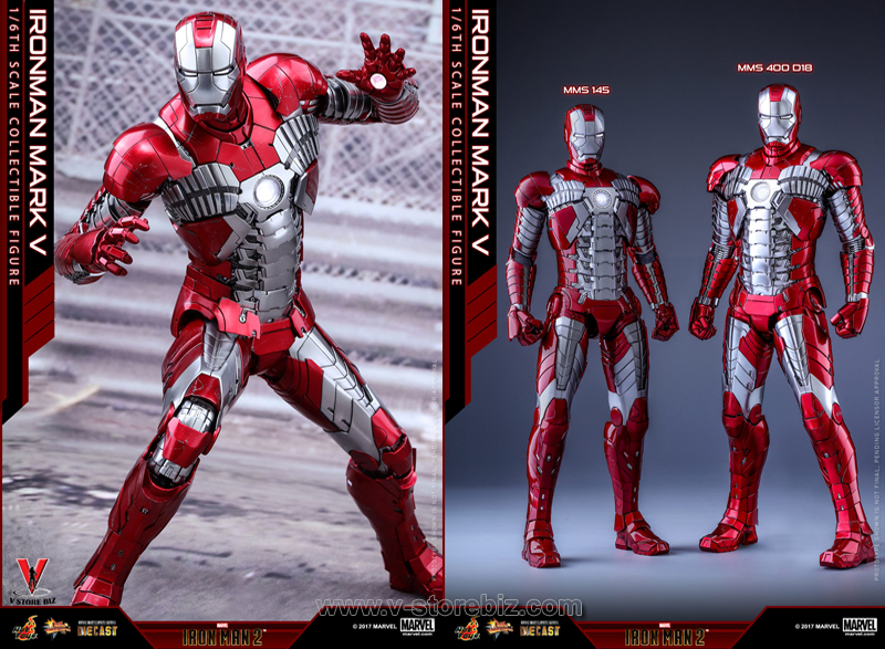 Hot Toys MMS400D18 Iron Man 2 Mark V (Diecast)