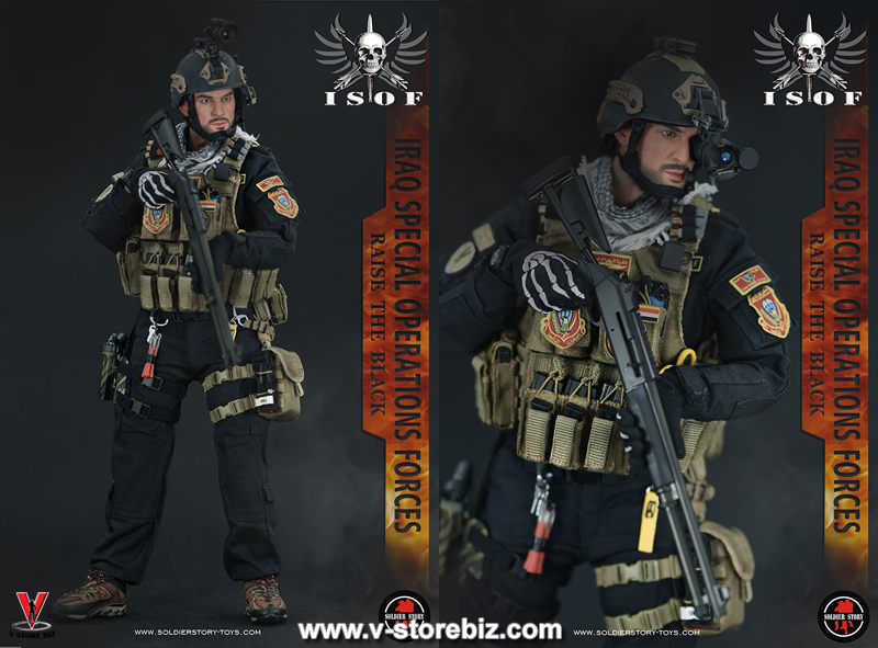 """Soldier Story SS105 Iraq Special Operations Forces """"ISOF"""""""