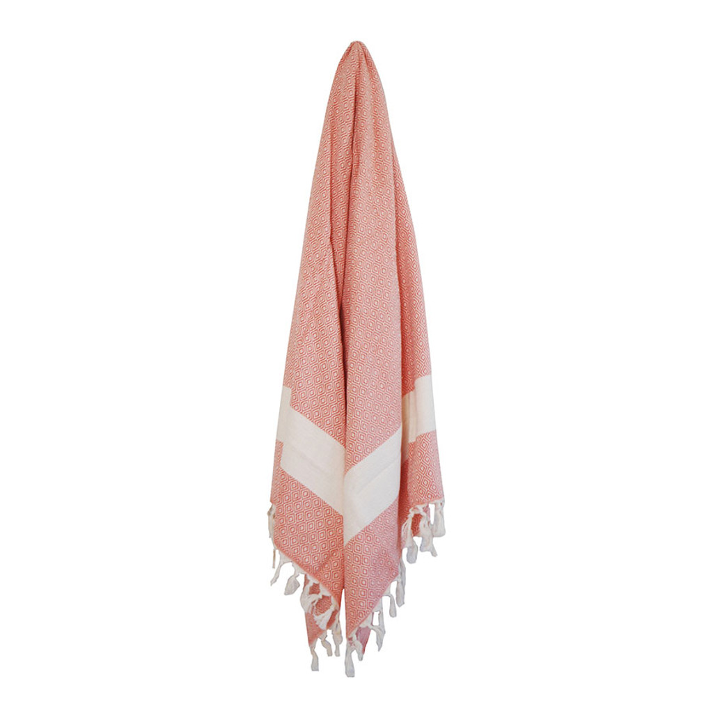 Turkish Hammam Towel- Peach