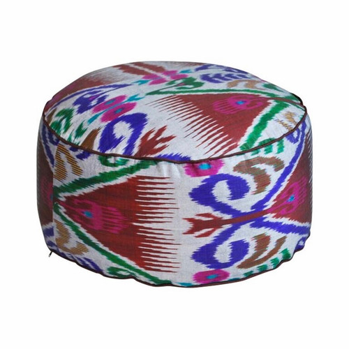 Ikat Floor Pillow