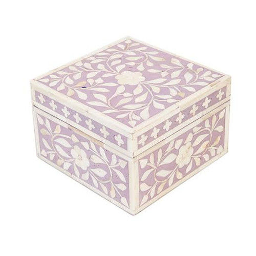 Jewelry Box Indian Purple