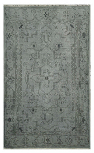 Over-dyed Rug, Grey 4' x 6'