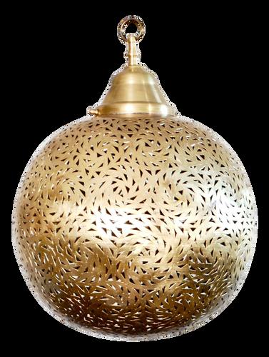 Moroccan Brass Hanging Pendant Lamp