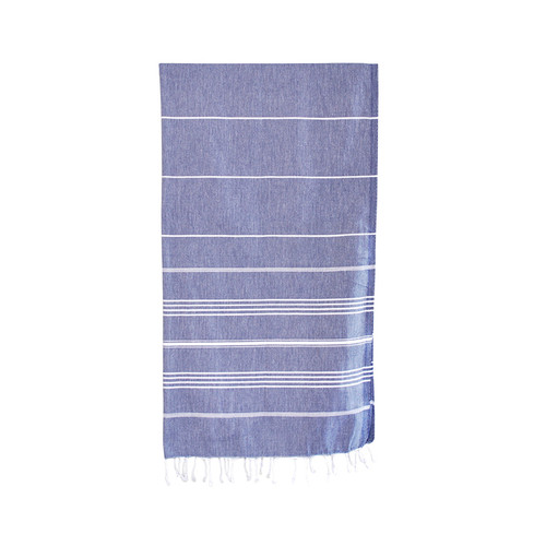 Turkish Bath Towel- Blue T59