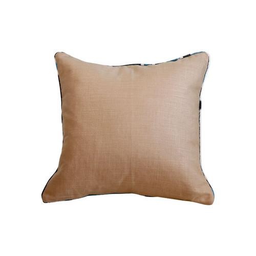 Ikat Pillow - Black & Blue Boukhara
