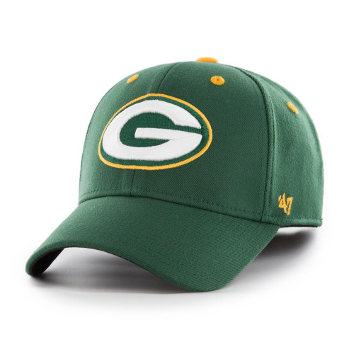 huge selection of 08f92 435f1 Kickoff 47 Brand Contender Green Bay Packers Fitted Hat