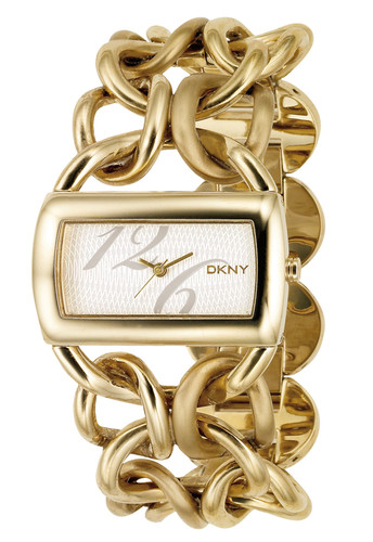 DKNY NY4366 Women's Gold-Toned Steel Bracelet Dress Watch