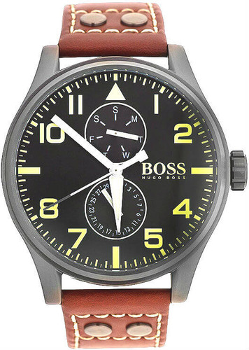 Hugo Boss Aeroliner MAXX Chronograph Black Dial Men's Watch 1513079