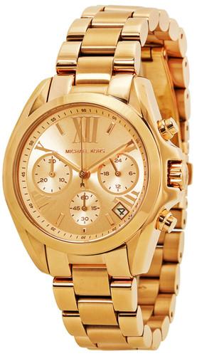 Michael Kors Bradshaw MK5799 Rose Gold-Tone Chronograph Women's Watch