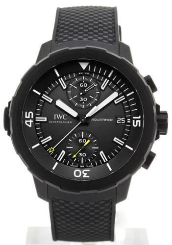IWC Aquatimer Galapagos Islands Chronograph Rubber Men Watch IW379502
