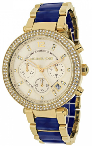 Michael Kors MK6238 Parker Two-tone Tortoise Acetate Women's Watch