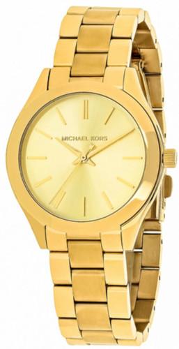 Michael Kors Mini Slim Runway Gold MK3512 Women's Steel Watch