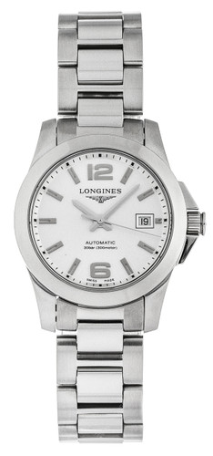 Longines Conquest 29.5mm Automatic Stainless Steel Watch L32764766