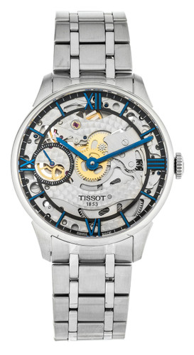 Tissot Chemin Des Tourelles Squelette Transparent Watch T0994051141800