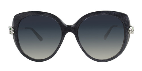 Cartier Panthère Combined Gray Panther Head Women Sunglasses ESW00123